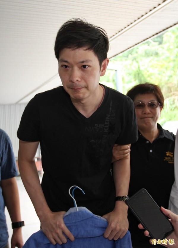 市議員李新的兒子李柏毅。(資料照,記者劉信德攝)