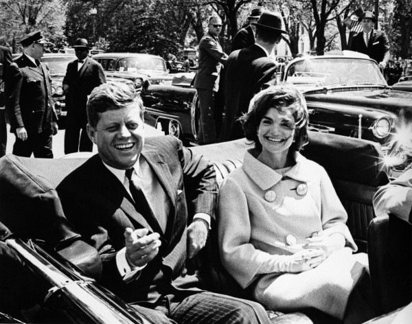 甘迺迪遇刺案的最後文件將公開。(圖取自John F. Kennedy Library)
