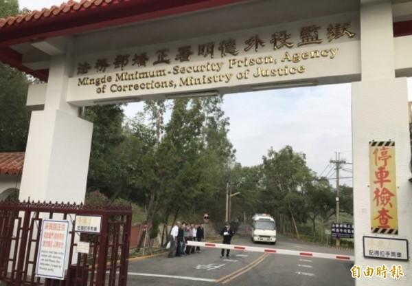 立委陳其邁的父親陳哲男今下午假釋出獄。(資料照,記者吳俊鋒攝)