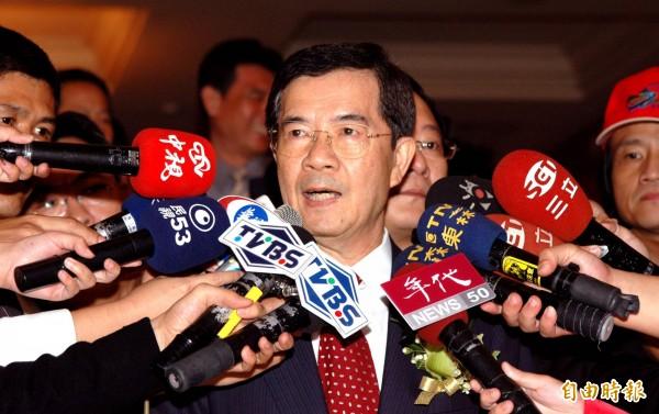 前總統府副秘書長陳哲男,今日假釋出獄。(資料照,記者張忠義攝)