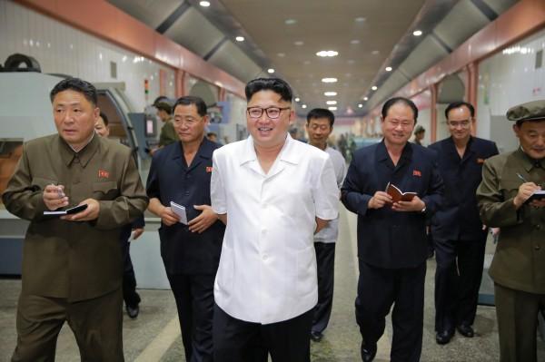 北韓領導人金正恩。(路透資料照)