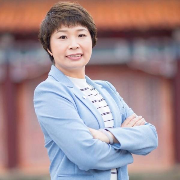 台南市議員陸美祈9月中捲入詐領助理費風波。(記者邱灝唐翻攝)