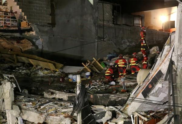 墨西哥南部外海驚傳芮氏規模5.4地震。示意圖。(路透)