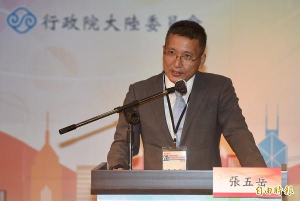 淡江大學陸研所副教授張五岳。(資料照,記者簡榮豐攝)