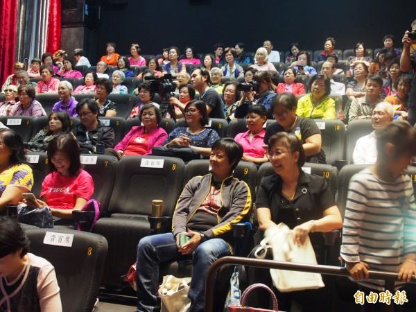 台東縣政府首部性別平等微電影,今天上午舉辦首映會。(記者王秀亭攝)