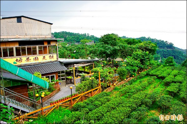 柯市府盼將貓空山區發展為台北市後花園,但山區違建茶館、土雞城問題相當棘手。 (記者黃建豪攝)