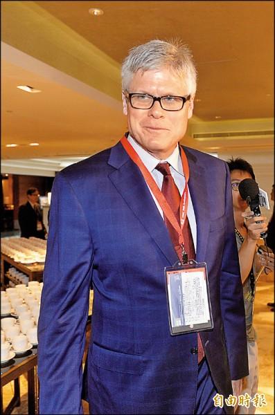 台積電舉行30周年慶活動,高通執行長Steve Mollenkopf出席。(記者方賓照攝)