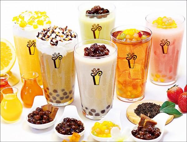 珍珠奶茶發展至各國後有不同的風貌;圖為珍珠奶茶業者,針對日本當地的飲食喜好,所設計的特色茶飲。(圖片提供/Pearl Lady)