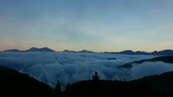 太平山的雲海。(圖由太平山翠峰山屋提供)