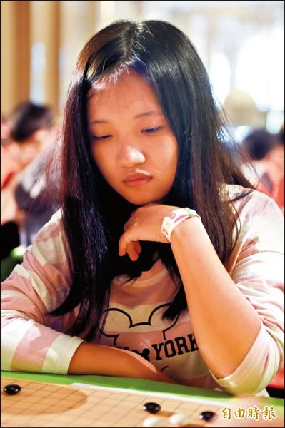 大學組林曉彤今年首次殺入決賽,實力不容小覷。(記者趙世勳攝)