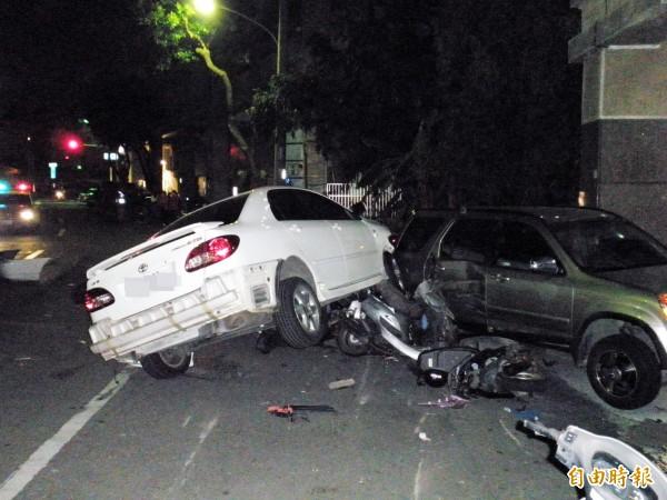 酒駕產生的交通事故時有所聞。(資料照,記者洪定宏攝)