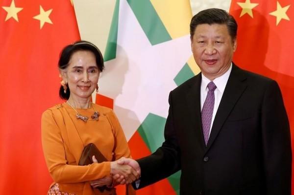 在緬甸國民認為外媒報導不公的憤怒下,中國不斷給予支持,外媒認為這會讓緬甸再次向中國靠攏。(資料圖,路透)