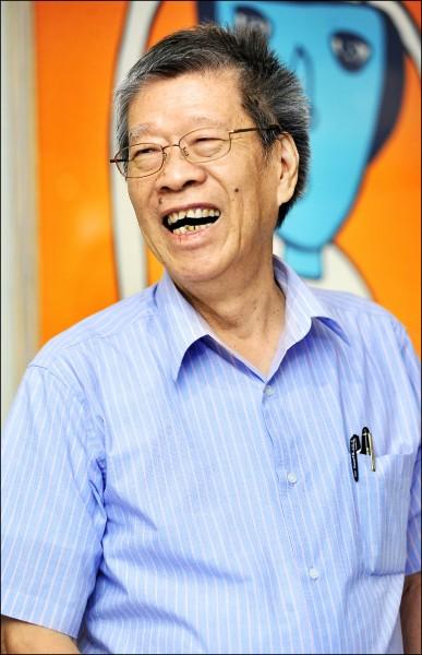 有台灣「國寶級」小說家之譽的鄭清文。(資料照)