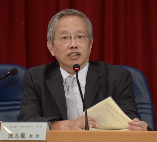 前台大法律系教授陳志龍(資料照)
