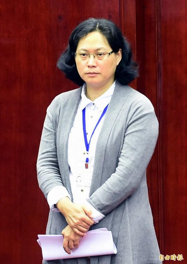 台北市勞動局長賴香伶。(資料照,記者方賓照攝)
