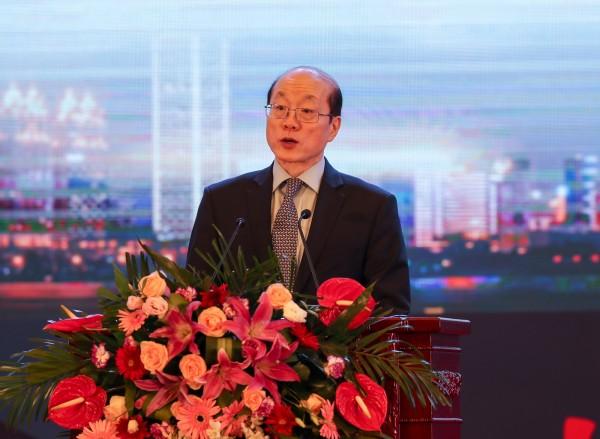 劉結一今多次提及台灣相關議題,但都圍繞在「祖國」的前提下。(中央社)
