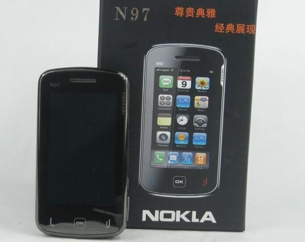 中國業者把NOKIA手機變成NOKLA。(圖擷取自GO SOCIAL)