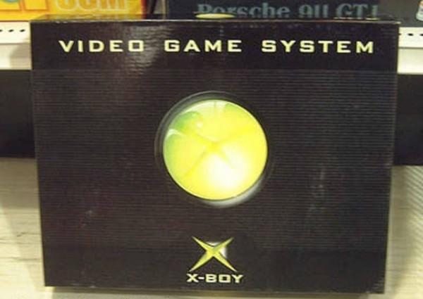 山寨版X-BOX電視遊樂器。(圖擷取自GO SOCIAL)