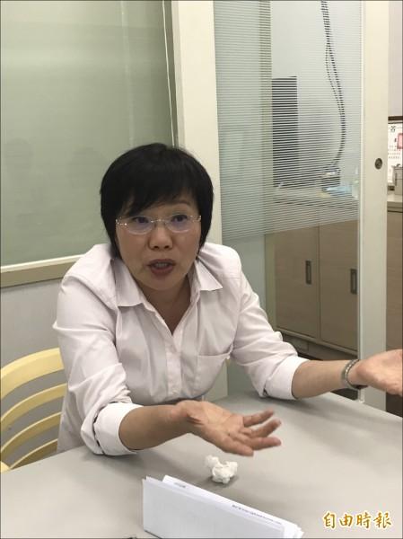 民進黨立委劉世芳昨接受電台訪問時表示,慶富董事長陳慶男在今年七月底、八月初時,曾向她陳情,主要是針對慶富案履約爭議的部分,她僅要慶富向公共工程委員會申請調解。(記者蘇芳禾攝)
