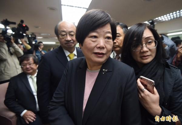 勞動部長林美珠今被問到「台灣有沒有過勞死」,林表示這部分很難一時間和大家解釋,因為這是個統計數字。(資料照,記者簡榮豐攝)