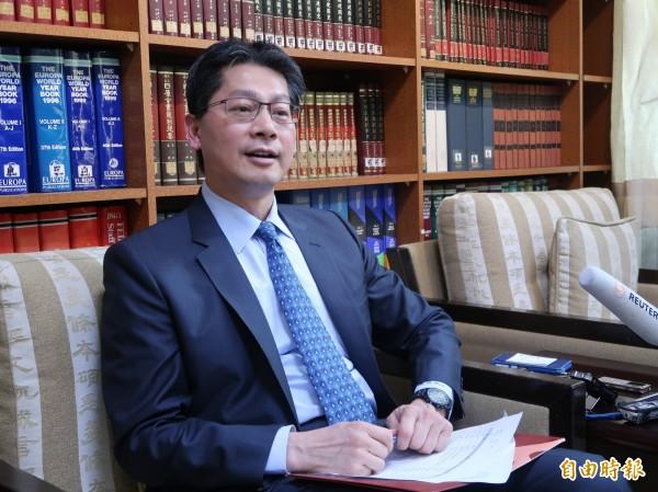 中國下禁令,禁止中國旅行社組團赴梵諦岡與帛琉旅遊。外交部發言人李憲章強調對我們和友邦的關係不會有影響。(資料照,記者呂伊萱攝)