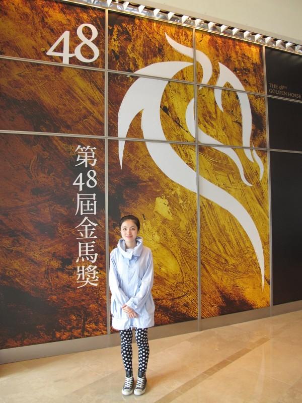 中生許哲涵申請北藝大攻讀第二個碩士。(中央社)