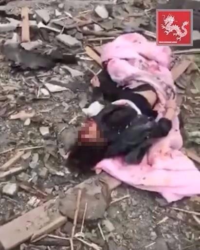 女子倒地不起滿臉鮮血。(圖擷自YouTube)
