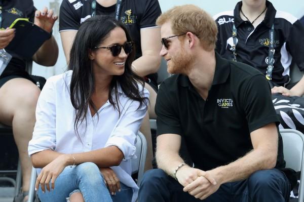 英國哈利王子與美國女星馬克爾(Meghan Markle)訂婚了!(法新社)
