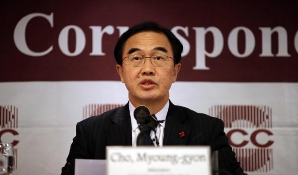 南韓統一部部長趙明均今(28)日表示,由於北韓以更快的腳步推進核武開發,可能在一年內宣布完成核武計畫。(歐新社)
