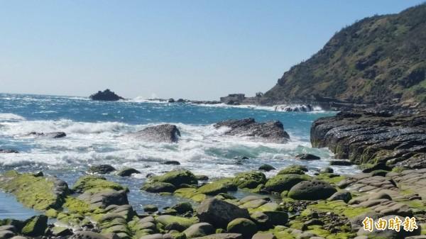 溪仔口至灣島地區海岸線景色絕美,號稱「阿朗二」。(資料照,記者蔡宗憲攝)