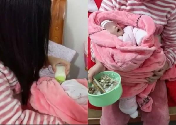 中國湖南省一名48歲男子,涉嫌性侵、迫使13歲少女懷孕,少女於本月5日產下一名女嬰。(圖擷取自星島日報)