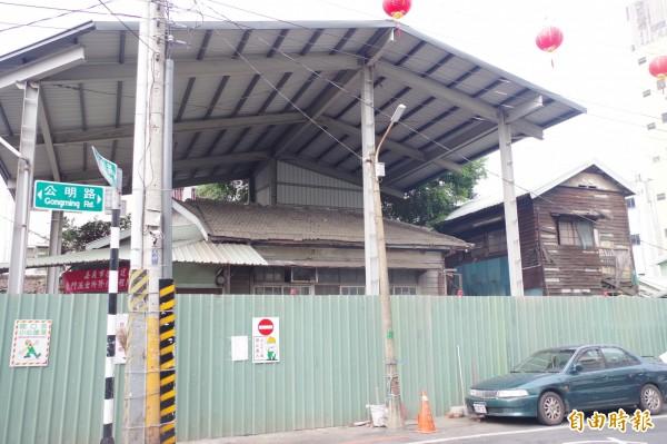文化局表示,目前所長宿舍部分修復工程暫停,其餘不涉及地下開挖的整修部分則可繼續進行。(資料照,記者王善嬿攝)