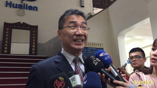 徐國勇表示,黨若有需要,黨員當然義不容辭往前衝。(資料照,記者王峻祺攝)