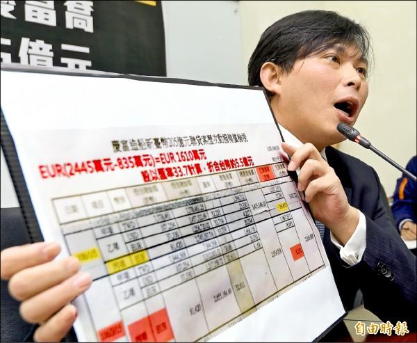 罷免黃國昌的同意票數要更多!選委會昨公告63888票。(記者朱沛雄攝)