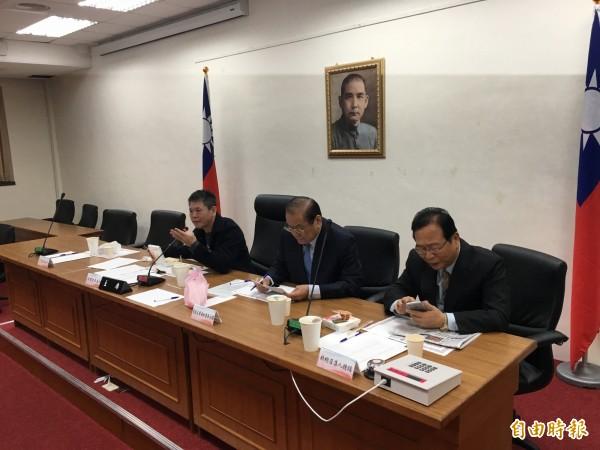 立法院國民黨團今指出,會在朝野協商時提出更為開放的「公投法」版本。(記者鄭鴻達攝)
