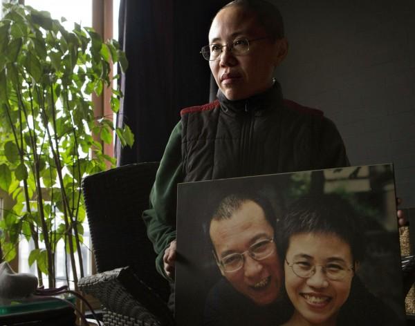 劉曉波友人廖亦武公開呼籲,要求中國政府釋放劉霞(見圖)。(美聯社)