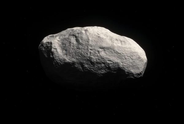 一顆直徑16公尺至32公尺如鯨魚般大小的小行星,上月9日與地球擦身而過,NASA隔天才發現有這顆小行星路過。示意圖,非「2017 VL2」。(美聯社)