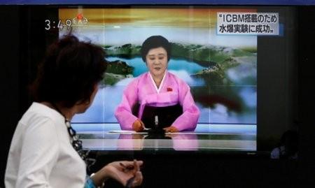 北韓的豐溪里(Punggye-ri)核子試驗場附近,又測到2次輕微地震,專家研判這是9月初進行大規模核試爆後的餘震。(路透)