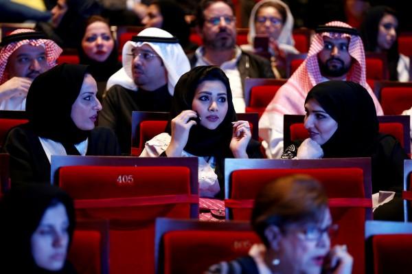 沙烏地阿拉伯當地將開放商人經營電影院。(法新社)