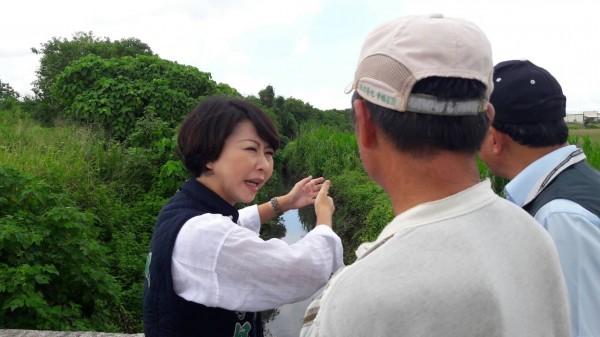 陳亭妃表示,她有20年民代資歷,只有了解台南,才能進一步發展扎根。(記者邱灝唐翻攝)