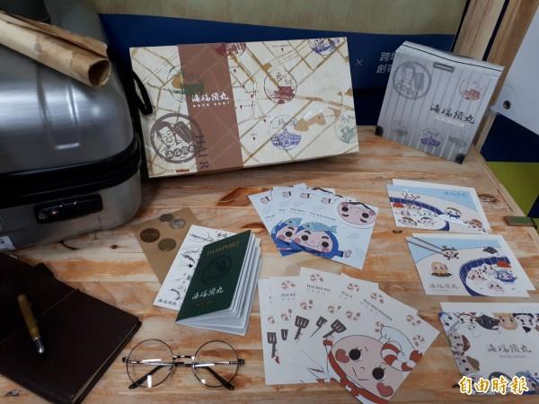 新竹市玄奘大學的創客空間成了學生實作的夢想實踐工廠,學生發表10個創客產品,解決很多顧客及店家的問題與需求,搭配時尚和創意,吸睛程度破表。(記者洪美秀攝)