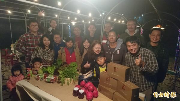 「台南好盟」成員來自不同領域,一同行銷台南好物。(記者劉婉君攝)