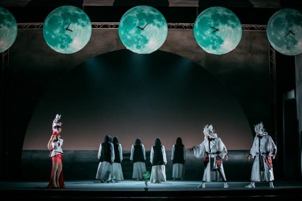 台南人劇團《天書》超脫現代的神話劇情。(台南文化中心提供)