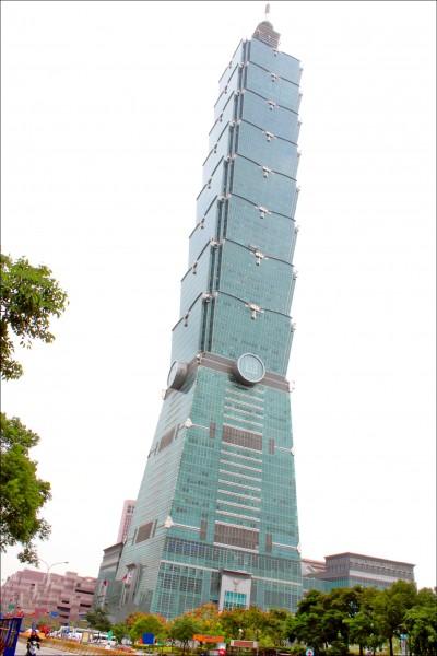 明年六都公告地價與公告土地現值罕見同步下修,台北市公告地價下跌6.12%,為歷年最大跌幅,以全國地王台北101大樓為例,明年地租可少繳近2千萬元。(資料照)