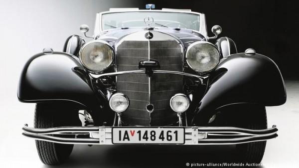 德國納粹領導人希特勒用來閱兵的「御用」汽車明年初在美國拍賣。(圖取自《德國之聲》)
