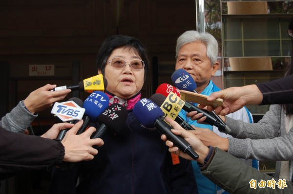 張博崴父母受訪指出,對判決難免有些失望,希望政府檢討山難、海難等搜救機制。(記者楊國文攝)