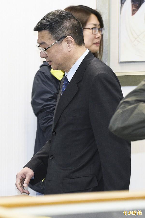 行政院秘書長卓榮泰。(資料照,記者陳志曲攝)