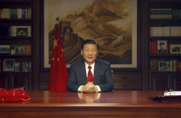 中國領導人習近平於2017年12月31日發表新年演說,內容談及要讓中國農村在2020年,達到全面脫貧的境界。(美聯社)
