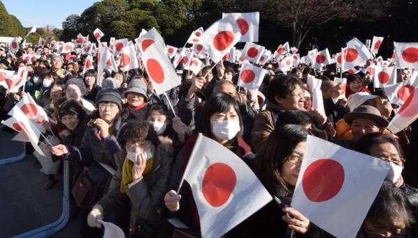 屬狗的日本民眾共有976萬人,佔總人口數1億2660萬人中的7.7%。(法新社)