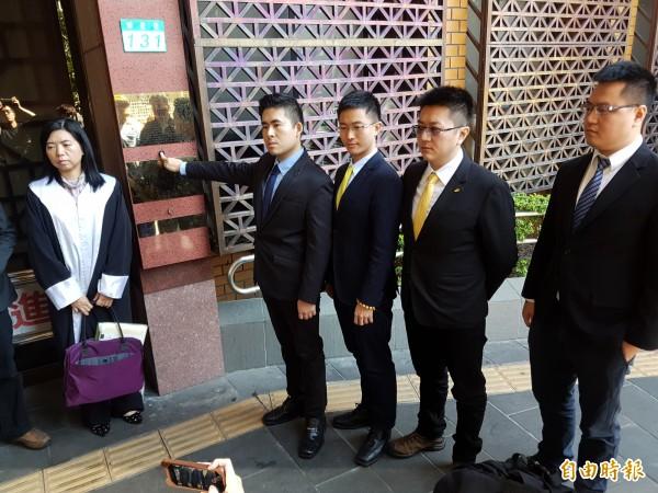 王炳忠日前至北檢控告檢調涉瀆職等罪。(資料照,記者謝君臨攝)